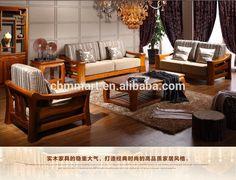 Source teak wood sofa set design for living room/living room furniture design on… Living Room Sofa Set, Wooden Sofa Designs, Wooden Sofa Set Designs, Wood Sofa, Furniture Sofa Set, Wooden Sofa, Sofa Design, Furniture Design Wooden, Wooden Sofa Set