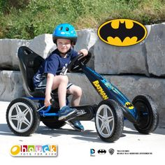 Batman Go Kart  http://www.bestdealstoys.com/batman-go-kart/