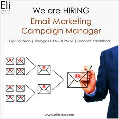 EGA – Global Information, Media, Research & Financial Services Company Email Marketing Campaign, Campaign Manager, Executive Jobs, Job Opening, Good Job, Free Resume, Location, How To Apply, India