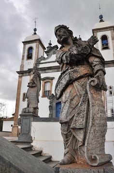 Sanctuary of Bom Jesus in Congonhas, Brazil