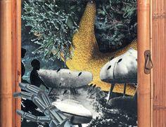 AQVARIUM FANTASY Dada Collage, Collage Art, Surrealism, Fantasy, Painting, Vintage, Painting Art, Paintings, Fantasy Books