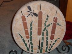 mosaic stepping stone Pebble Mosaic, Stone Mosaic, Mosaic Wall, Mosaic Glass, Mosaic Tiles, Painted Stepping Stones, Decorative Stepping Stones, Painted Pavers, Mosaic Supplies