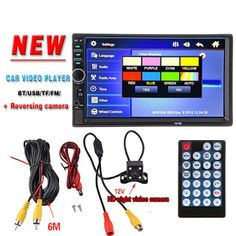 2 Din Car Multimedia Player 7 HD Bluetooth Auto Stereo Radio FM MP3 MP4 MP5 Audio Video USB NO DVD Electronics 2din autoradio (32591626157)  SEE MORE  #SuperDeals