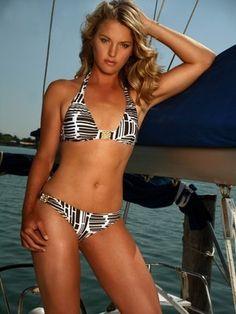 Amber prange bikini