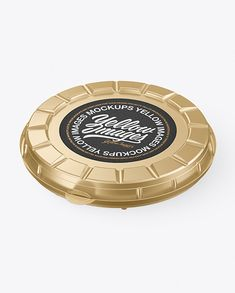 Metallized Round Pizza Box Mockup Pizza Boxes, High Angle Shot, Box Mockup, Creative Words, Packaging Design, Your Design, Layers, Objects, Tags