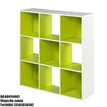 Cheap 9 cube wooden bookcase,book shelf,children bookshelves