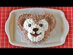 How to Make Duffy the Disney Bear Cake