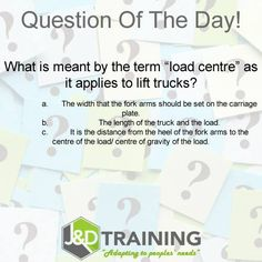 Forklift question of the day 18 from http://ift.tt/1HvuLik #forklift #training #safety #jobsearch
