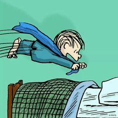 ✔ Good night! (no words) --Peanuts Gang