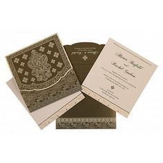 Give your wedding a special feel with our exclusive Green, Shimmer Paper, Islamic Wedding Cards - Muslim Wedding Cards, Muslim Wedding Invitations, Wedding Invitation Design, Wedding Card Design Indian, Screen Printing, How To Memorize Things, Sage, Deep, Card Designs