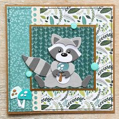 Racoon, Marianne Design, I Card, Making Ideas, Card Making, Kids Rugs, Blog, Inspiration, November