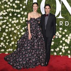 #LiuWen showing up for the #TonyAwards in a dramatic floral ball gown with her date @ZacPosen! #HarpersBazaarSG  via HARPER'S BAZAAR SINGAPORE MAGAZINE OFFICIAL INSTAGRAM - Fashion Campaigns  Haute Couture  Advertising  Editorial Photography  Magazine Cover Designs  Supermodels  Runway Models
