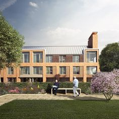 Set within the conservation area of Lichfield, Chapter House is a 38 dwelling residential development designed for retirement living. Social Housing, Brickwork, House Roof, Mansions, Facades, Architecture, House Styles, Design, Arquitetura