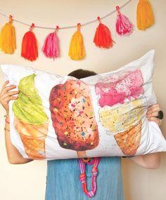 Dawn Tan pillow.