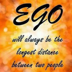Jyoti A Verma: EGO –A Cancer thatkills all Relations A beautiful ...