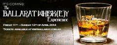 The Ballarat Whiskey Experience is a boutique celebration of the world's favourite spirit.  Held in picturesque historic settings in Ballarat's CBD, guests can expect to enjoy tastings of the finest whiskey from all over the world.  https://www.facebook.com/ballaratwhiskey | http://visitballarat.com.au/events/food-wine/ballarat-whiskey-experience.aspx
