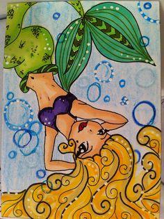 Mermaid ATC | Flickr - Photo Sharing!