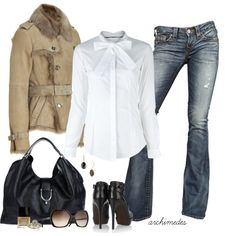 """Autumn in London"" by archimedes16 on Polyvore"