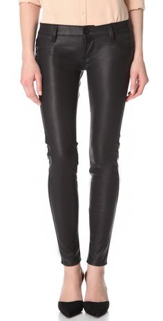 I will spare the public the sight of me in (faux) leather pants but, honestly, I really want a pair of faux leather pants!