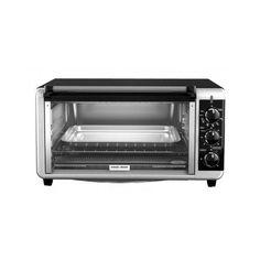 Toaster Oven Black & Decker 8-Slice Extra Wide Bake Countertop Broiler Pizza #Black