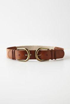 Reflected Buckle Belt #accessories