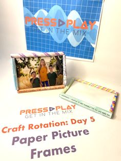 Paper Picture Frames, Paper Frames, Vbs Crafts, Vacation Bible School, Picture Day, Play, Pictures, Photos, Photo Illustration