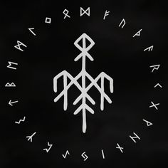Wardruna is a Norwegian music group founded by Kvitrafn in Their debut album 'Runaljod – gap var Ginnunga' was released in 2009 and is the first part of a planned trilogy which will musically in Nordic Symbols, Rune Symbols, Magic Symbols, Symbols And Meanings, Celtic Symbols, Norse Runes, Futhark Runes, Viking Runes, Norse Tattoo