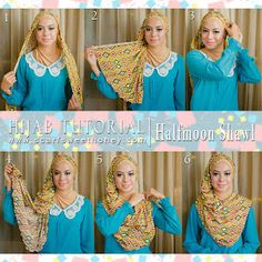 What is best way to wear the headscarf? How way of wearing scarf to not too tight in neck area and head? Here we provide some ti. Pashmina Hijab Tutorial, Scarf Tutorial, How To Wear Hijab, How To Wear Scarves, Turban Hijab, Hijab Dress, Wedding Hijab, Pakistani Wedding Dresses, Dress Wedding