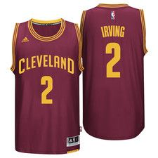 Cleveland Cavaliers Road Swingman Trikot - Kyrie Irving Athletic Outfits ba0c96b4853