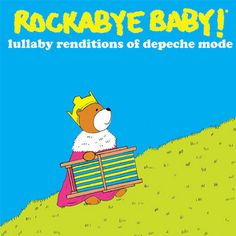 Rock And Roll Baby Gifts - Rockabye Baby Depeche Mode CD