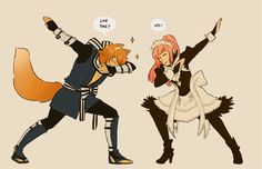 """Fire Emblem Fates - """"How to Dab"""" by Felicia I usually don't like dabs but this is awesome!"""