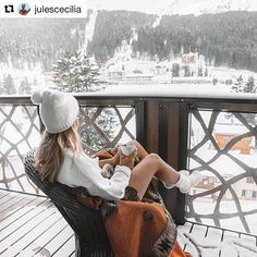 Cozy morning on our balcony at the before we hit the slopes ☕️ 🏂 Easy Like Sunday Morning, Happy Morning, Winterthur, We Heart It, Online Shopping, Winter Images, Inspirations Magazine, Difficult People, Retro Chic