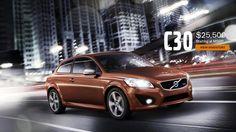 Volvo C30 Starting at $25,500. www.mcdonaldvolvo.com