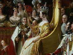 The Coronation of Queen Victoria.