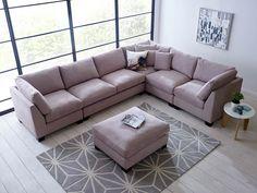 Isabelle Corner Sectional Sofa Set