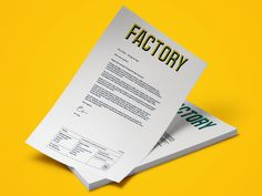 Factory — Instruct Studio — Design, Print and Digital in Manchester