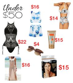 """""""Untitled #188"""" by lilmissy1128 on Polyvore featuring beauty, under50, skirtunder50 and summerthingsunder50"""
