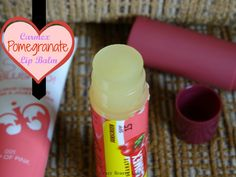 Carmex Ultra Hydrating Lip Balm in Pomegranate Review. Click to read the full post | Crazy Beauty Land
