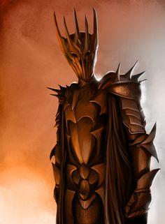 Dark Lord Sauron by SpartanK42.deviantart.com on @deviantART