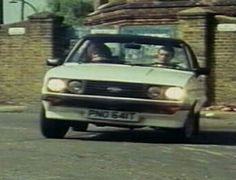 The Professionals: Doyle's Ford Escort Mark II RS2000 - PNO 641T (TV Plate)
