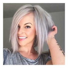 16-Short Straight Hairstyle