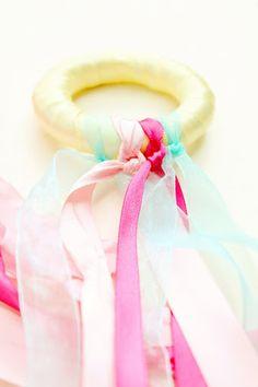 Fairies Fairies Everywhere Week: DIY Fairy Ribbon Ringsribbon rings