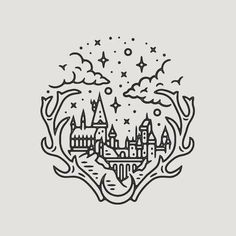 Hogwarts a piece because after Fantastic Beas I& still in Harry Potter mod . - Hogwarts a piece because after Fantastic Beas I& still in Harry Potter mode … # - Harry Potter Tattoos, Harry Potter Art, Harry Potter Drawings Easy, Harry Potter Symbols, Cherub Tattoo Designs, Hp Tattoo, Tattoo Fonts, Tattoo Music, Snitch Tattoo