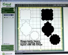 How To Create Nested Style Shapes With The Cricut