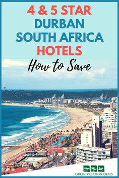 Durban South Africa Travel Tips - Planning to visit Ushaka Marine World or other great travel destinations in Durban South Africa? Then you'll definitely want to find out how you can save money on 4 & 5 Star Durban South Africa Hotels! Great Durban hotel deals for your travel plans. #Durban #SouthAfrica #Hotels #uShaka #beach #Holiday #Travel #LuxuryTravel #HotelDeals #TravelDeals #Africa #ExploreSouthAfrica #DiscoverAfrica #HotelSale #Pinetown #KwaZuluNatal #meetSouthAfrica #trip