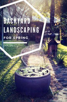 Spring has already arrived. Prepare your garden with these innovative ideas. #backyard #landscape #spring #california