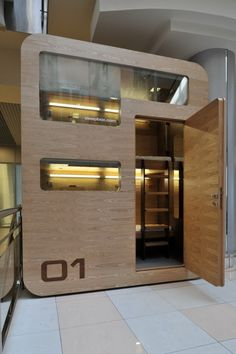 Sleepbox: Comfortable + Portable Hotel Room by Arch Group - Moscow, Russia