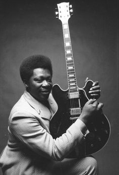 On My Bucket List: To see and hear B.B. King and Lucille.