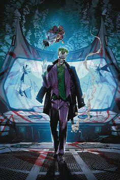 Joker Dc Comics, Dc Comics Art, Anime Comics, Comic Art, Comic Books, Marvel E Dc, Batman Universe, Dc Universe, Joker Art