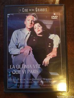 La última vez que vi París [Vídeo (DVD)] / dir. Richard Brooks.   Select Pictures, 2003? Walter Pidgeon, Paris Video, Donna Reed, Roger Moore, Movies, Movie Posters, Pictures, Fictional Characters, Photos